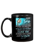 Otter Son Last Breath To Say Love  Mug back
