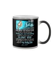 Otter Son Last Breath To Say Love  Color Changing Mug thumbnail
