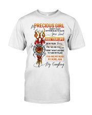 Firefighter Girlfriend Don't Want Anyone Else Classic T-Shirt tile
