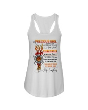 Firefighter Girlfriend Don't Want Anyone Else Ladies Flowy Tank tile