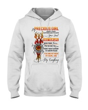 Firefighter Girlfriend Don't Want Anyone Else Hooded Sweatshirt thumbnail