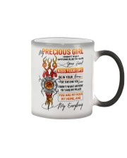Firefighter Girlfriend Don't Want Anyone Else Color Changing Mug tile