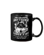 Ask Granpa Anything Wolf Mug thumbnail