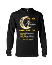 Collie Son Mom Mommy Loves You Long Sleeve Tee thumbnail