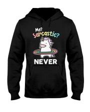 Unicorn Sarcastic T-shirt Hooded Sweatshirt thumbnail