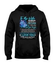 Turtle Wife Clock Ability Moon Hooded Sweatshirt thumbnail