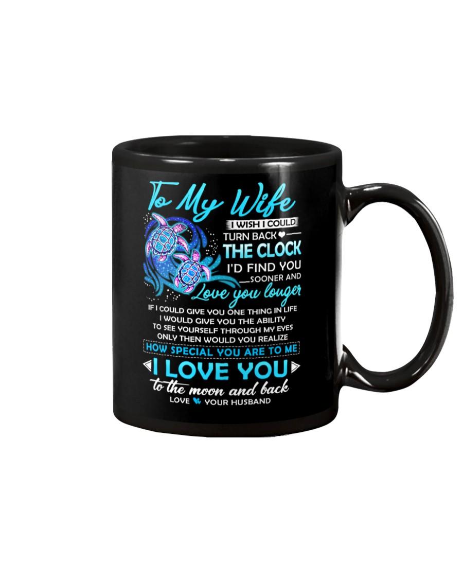 Turtle Wife Clock Ability Moon Mug