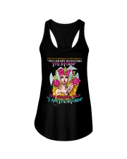 Unicorn Devil Whispered  Ladies Flowy Tank front