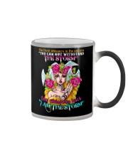 Unicorn Devil Whispered  Color Changing Mug thumbnail