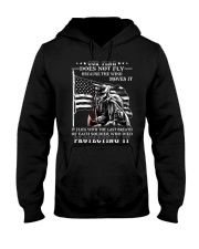 Our Flag Firefighter Protecting It  Hooded Sweatshirt thumbnail