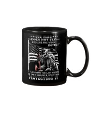 Our Flag Firefighter Protecting It  Mug thumbnail