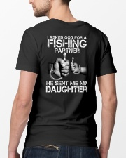 Fishing My daughter  Classic T-Shirt lifestyle-mens-crewneck-back-5