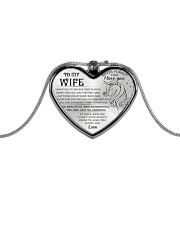Unicorn You Are Just So Amazing Wife Metallic Heart Necklace front