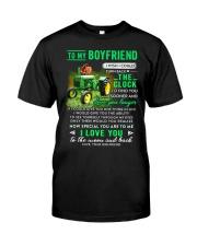 Farmer Boyfriend Clock Ability Moon Classic T-Shirt thumbnail