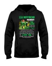 Farmer Boyfriend Clock Ability Moon Hooded Sweatshirt thumbnail