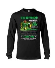 Farmer Boyfriend Clock Ability Moon Long Sleeve Tee thumbnail