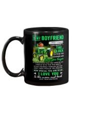 Farmer Boyfriend Clock Ability Moon Mug back