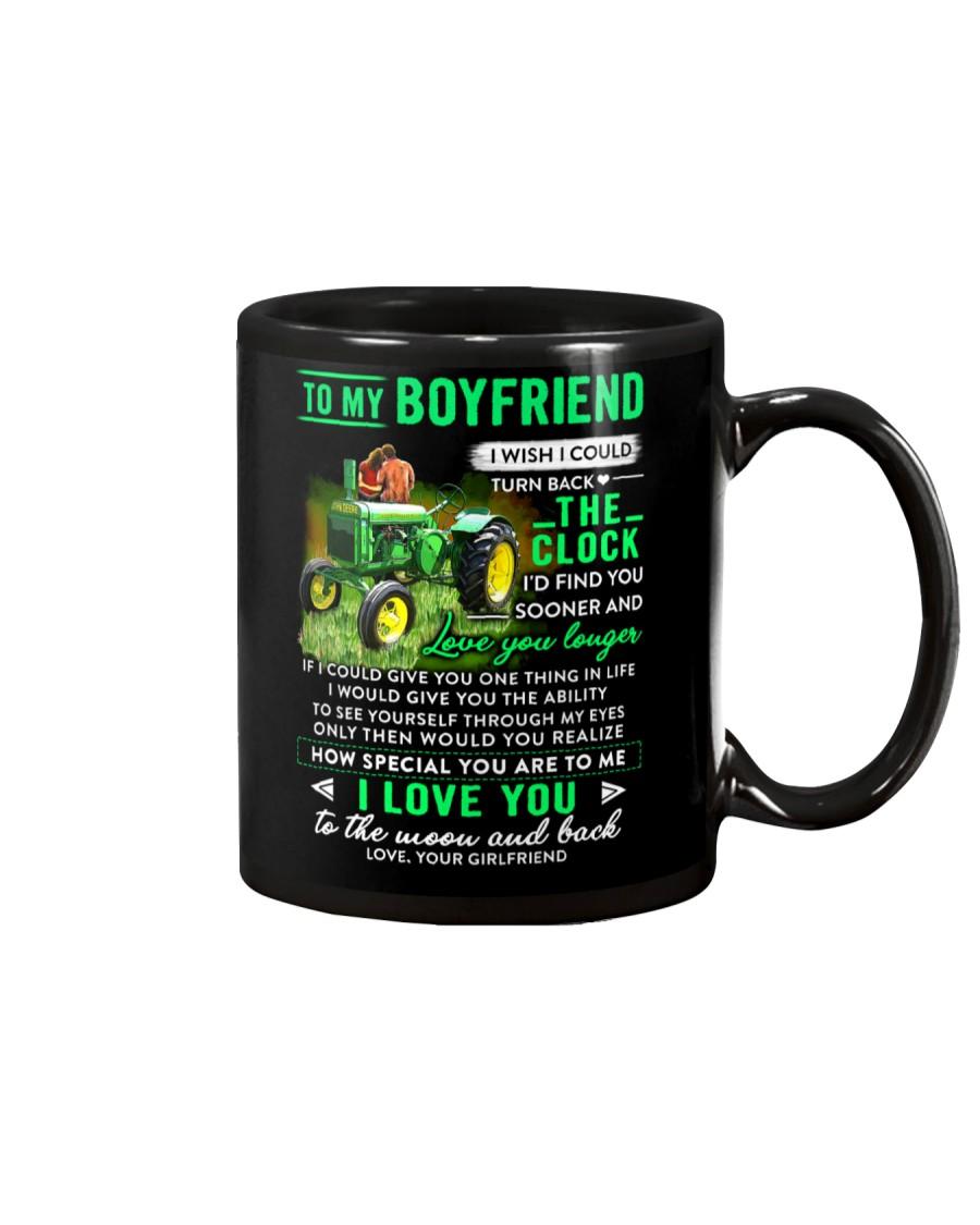 Farmer Boyfriend Clock Ability Moon Mug