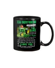 Farmer Boyfriend Clock Ability Moon Mug front