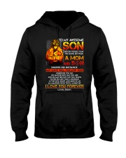 Firefighter The Bond Between Son Mom  Hooded Sweatshirt thumbnail