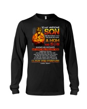 Firefighter The Bond Between Son Mom  Long Sleeve Tee thumbnail