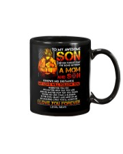 Firefighter The Bond Between Son Mom  Mug front
