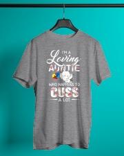 Elephant Loving Auntie Cuss  Classic T-Shirt lifestyle-mens-crewneck-front-3