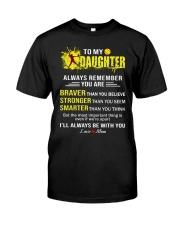 Softball to my daughter Classic T-Shirt thumbnail