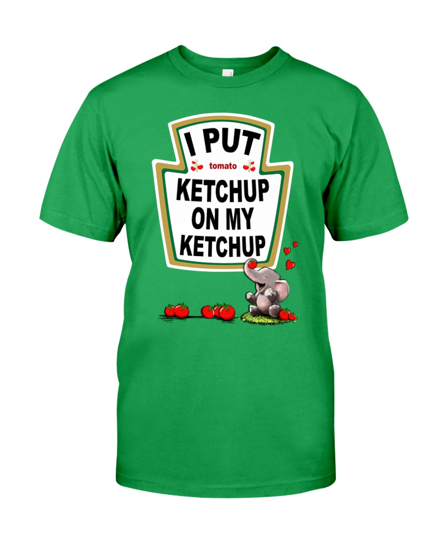 Elephant Tomato Ketchup Classic T-Shirt