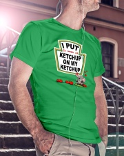 Elephant Tomato Ketchup Classic T-Shirt lifestyle-mens-crewneck-front-5