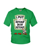 Elephant Tomato Ketchup Youth T-Shirt tile