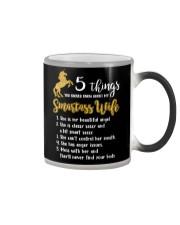 Unicorn Wife 5 Things T-shirt Color Changing Mug thumbnail