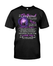 Cat Girlfriend Clock Ability Moon Classic T-Shirt thumbnail