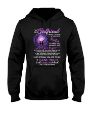 Cat Girlfriend Clock Ability Moon Hooded Sweatshirt thumbnail