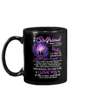 Cat Girlfriend Clock Ability Moon Mug back