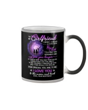 Cat Girlfriend Clock Ability Moon Color Changing Mug thumbnail