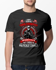Veteran shirt: I didn't serve this country Classic T-Shirt lifestyle-mens-crewneck-front-13