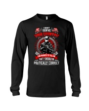 Veteran shirt: I didn't serve this country Long Sleeve Tee thumbnail