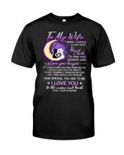 Cat Wife Clock Ability Moon Classic T-Shirt thumbnail