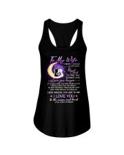 Cat Wife Clock Ability Moon Ladies Flowy Tank thumbnail