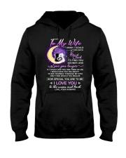 Cat Wife Clock Ability Moon Hooded Sweatshirt thumbnail