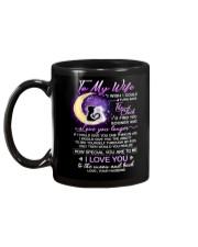 Cat Wife Clock Ability Moon Mug back