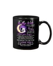 Cat Wife Clock Ability Moon Mug front