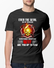 Whispers of devil  Classic T-Shirt lifestyle-mens-crewneck-front-13