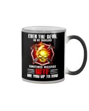 Whispers of devil  Color Changing Mug thumbnail