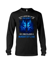 Don't Judge Me Wolf Long Sleeve Tee thumbnail