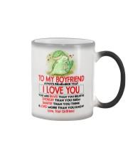 Dinosaur Boyfriend I Love You Color Changing Mug thumbnail