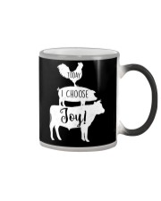 Farmer today I choose joy Color Changing Mug thumbnail