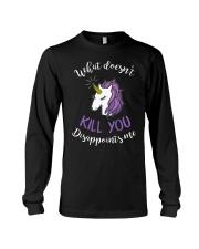 Unicorn Disappoints Me T-shirt Long Sleeve Tee thumbnail
