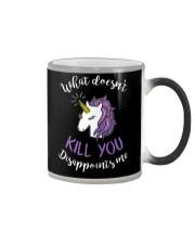 Unicorn Disappoints Me T-shirt Color Changing Mug thumbnail